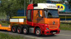 mercedes benz actros mp4 red mercedes benz actros arocs slt heavy haulage tractor page 4