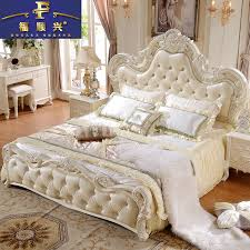 European Style Bedroom Furniture by Style Double Bed 18 M Bed French Princess Bed Leather
