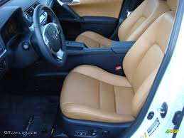 lexus hybrid ct200h interior caramel interior 2011 lexus ct 200h hybrid premium photo 55604422
