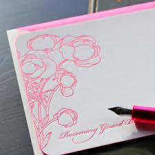 letterpress stationery stationery sesame letterpress design