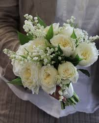 wedding flowers valley beautiful wedding bouquet comprised of ivory