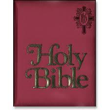 catholic gifts and more catholic family bible in burgandy i catholic gifts and more
