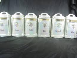 vintage glass canisters kitchen antique blue glass kitchen canisters vintage glass canisters for