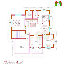 architecture kerala four bed room house plan beautiful style
