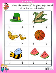 count the number of objects u2013 worksheets mathsdiary com