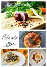 Cooking Italian Comfort Food Traditional Polenta With A Sausage Pork Rib Tomato Sauce An