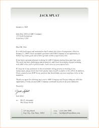 How To Write A Resignation Letter Template 10 Resign Letter Sample From Factory Basic Job Appication Letter