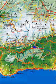 Spain Map Maps Of Sierra Nevada Ski Resort In Spain Sno