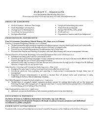 resume management level jay wren