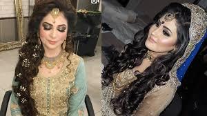 hairstyle bridal images pakistani wedding dresses and hairstyles pakistani bridal makeup