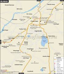 map of be city map
