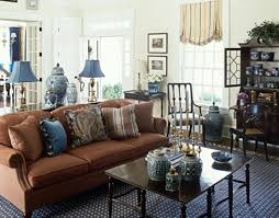 blue livingroom blue and brown living room commercial blue and brown living room