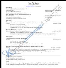 Sample Resume Yang Terbaik by Download Contoh Resume Kerja Free Resume Example And Writing