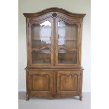 French Country Buffet And Hutch by Ethan Allen Country French China Cabinet And Buffet Chairish