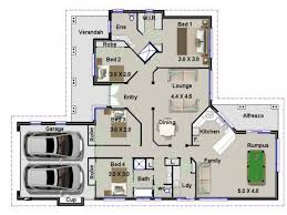 4 bed house plans 4 bedroom house plans australia modern house plan