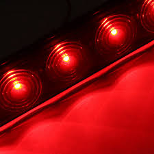 Led Strip Tail Lights by Aliexpress Com Buy 1pcs 12v 15inch Smoke Led Strip Bar Truck
