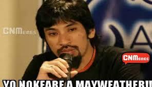 Manny Pacquiao Meme - floyd mayweather vs manny pacquiao los mejores memes de la pelea