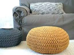 Knit Pouf Ottoman Pattern Knitted Bean Bag Knitted Pouf Ottoman Like This Item Cable Knit