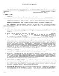 sample property lease agreement free poster templates for word