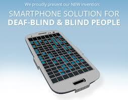 Blind People Phone Real Deaf Blind Communicator Indiegogo