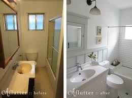bungalow bathroom ideas how made small bungalow bath look bigger hooked on houses