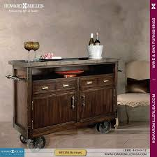 695146 howard miller rustic distress wine bar cart console