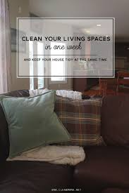 livinf spaces come clean challenge week 2 living spaces clean mama