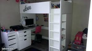 bureau sous lit mezzanine lit mezzanine escalier rangement lit mezzanine armoire bureau lit