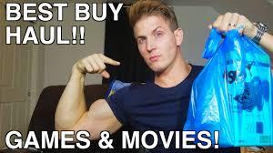 best buy haul games u0026 movies special surprise dvd youtube