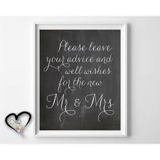 marriage advice cards for wedding leave your advice and well wishes wedding advice sign