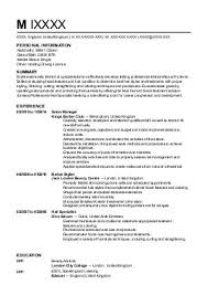 Barber Resume Example Stunning Barber Resume Template Gallery Top Resume Revision