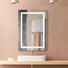 Lighted Bathroom Mirrors Lighted Wall Mounted Bathroom Mirrors Ebay