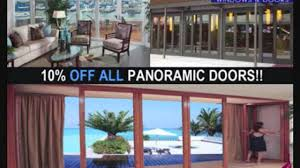 Sliding Glass Pocket Patio Doors by Panoramic Doors French Doors Exterior Exterior French Patio Doors