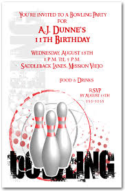 bowling invitation bowling party invite 53 best bowling