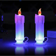 long pillar christmas led electronics candle lamp candela
