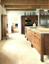 caisson cuisine bois massif cuisine bois massif design de maison