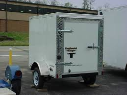 enclosed trailer exterior lights 2017 continental cargo 4x6 v nose cargo trailer in loyalhanna pa