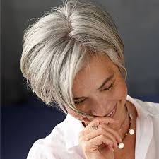 salt and pepper hair with brown lowlights should i dye my gray hair hair world magazine