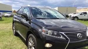 lexus rx 350 interior 2013 pre owned black 2013 lexus rx 350 awd ultra premium package review