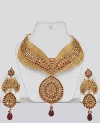 Buy Designer Gold Plated Golden Heavy Bridal Polki Jewellery Indian Set Gold Plated Indian