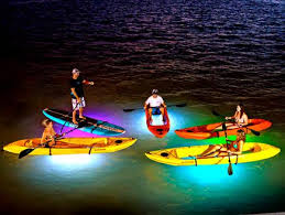 Kayak Night Lights Kayaking And Paddle Board Tours In Key West Ibis Bay Paddle Sports