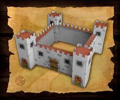 free diy cardboard castle kids build cardboard castle