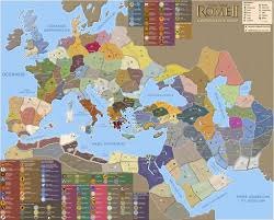 Rome World Map by Rome Ii Campaign Map Drawings Canomer