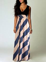 light blue and white striped maxi dress grecian style maxi gown light blue sleeveless