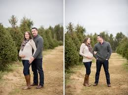 12 best christmas tree farm maternity session images on pinterest