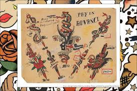 tattoo johnny flash book vintage tattoo flash jonathan shaw ponyboy magazine