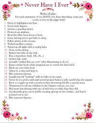 baby shower question baby shower food ideas baby shower question ideas