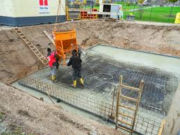treppe betonieren betonieren der grundplatte hausbaubuehl