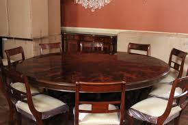 Mahogany Round Table - Mahogany dining room sets