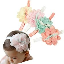 newborn hair bows flower hair bows for babies and brides how to make hair bows